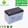 Top quality Yangtze 12 volt gel battery for home solar system