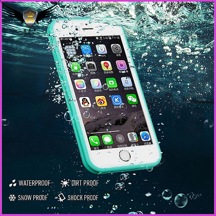 2017 New Waterproof Phone Case For Apple iphone7, For iphone 7 Waterproof Case Cover