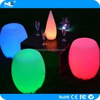 Home party and event led stool light up bar chair illuminated led chair sofa