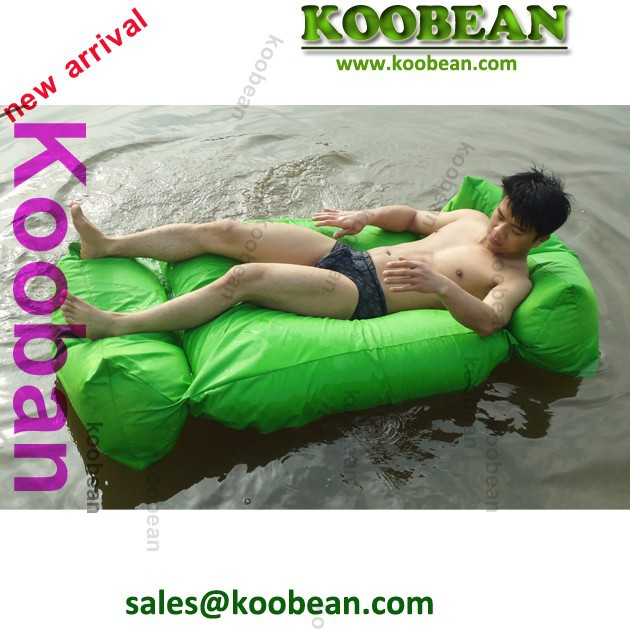 large water floating bean bag recliner