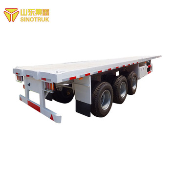Good Quality China Brand new sinotruk howo container semi trailer for sale
