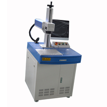 Mini 20W 30W fiber laser marking machine for printed circuit board, chip,mobile phone shell