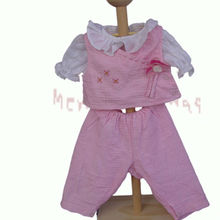 2013 fashion cute doll baby name brand clothes