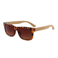 Popular Products smoke lens wooden temple sunglasses <strong>bamboo</strong> with dropshipping