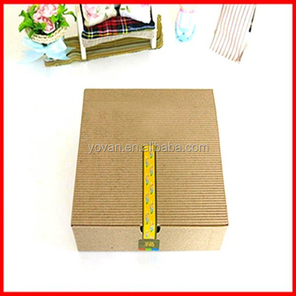 New Design Craft Corrugated Cheap Paper Candy Packaging Gift Box Wholesale