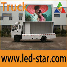 outdoor mobile tv P10 adversiting led display china manufacturer