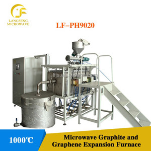 Microwave assisted exfoliation of graphite oxide powder to synthesis graphene powder