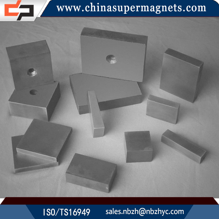 Environmental Customized Industrial n42 triangle neodymium magnet