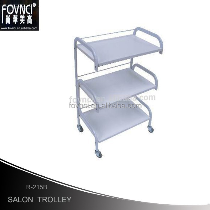 Salon Furniture Many Color Wood Beauty Trolley Salon Equipment Beauty Trolley Wood Trolley