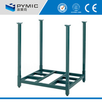 Warehouse pallet stacking/Warehouse tire storage stacking folding rack/pallet stacking frames
