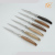 Manufacturer sale 6 pieces wood handle stainless steel tableware steak knives