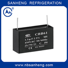 High Quality Moter Run 8UF Capacitors