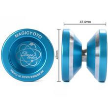 Magic <strong>YoYo</strong> N8 Unresponsive <strong>Yoyo</strong> Alloy Aluminum Yo Yo + 6 Strings + Glove+<strong>Yoyo</strong> Bag Gift
