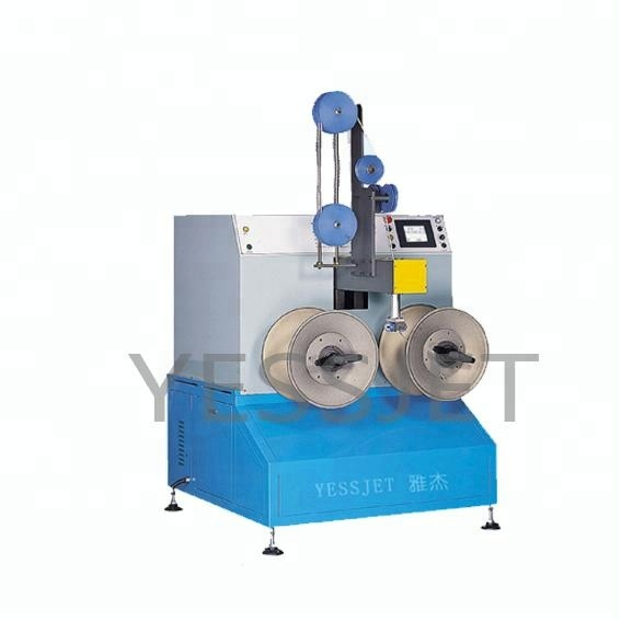 Cat6 cable manufacturing winding cross winder machine