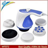 Infrared electronic body massager burn fat machine healthy relax spin tone