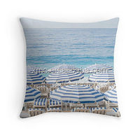 fascinating french rivirea printed polyester canvas pillows wholesale