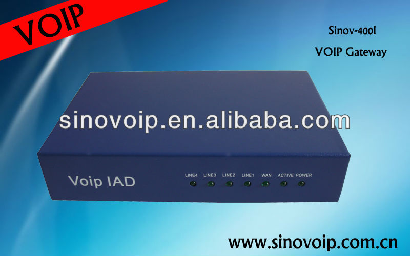 Analog Telephone Adapter VOIP ATA 4FXS SIP protocol