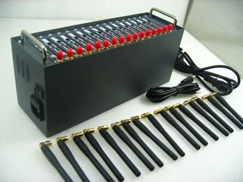 16 port multi-socket gsm gprs 8 ports modem pool