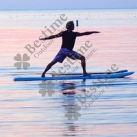 9'6'' size SUP, Stand Up Board, Paddle, inflatable Stand up Pad
