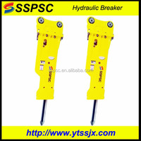 jack hammer breaker spare parts/Supplying fine hammer SB140 Silenced Hydraulic Breaker