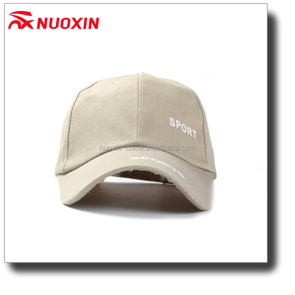 NX white outdoor sports cheap promotion 100% cotton printed logo baseball cap
