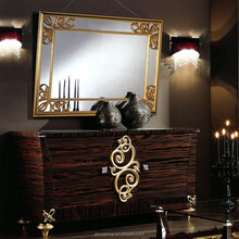 AAS527-luxury furniture wall mirror decorative drawer cabinet