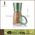 Different lid choice 6OZ 170ml household Food Grade Anodizing Stepless Salt and Pepper Mill