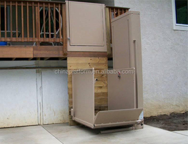 Electric wheelchair lifts hydraulic lift elevator drawing handicapped wheelchair lift GTW-2