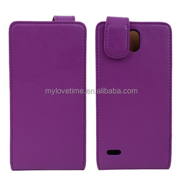 Natural Leather handcrafted mobile phone case and sleeves for huawei g700