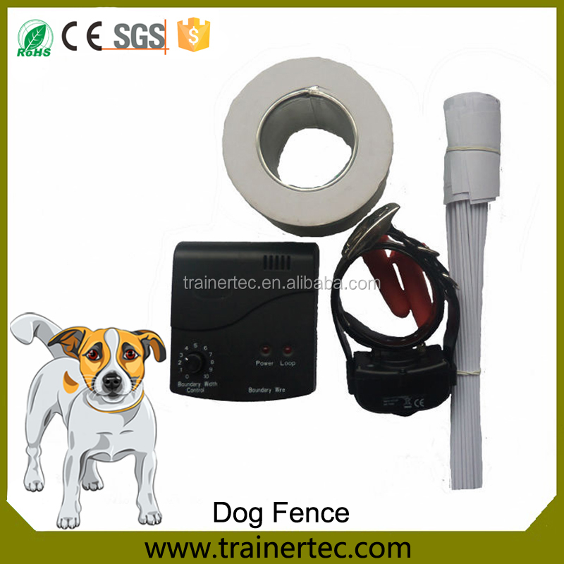 Dog fence wireless containment system