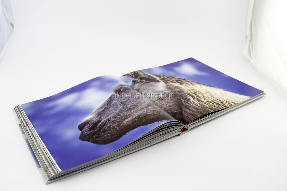 Customized hardcover color book and magazine <strong>printing</strong> with UV spot and film lamination color book publishing