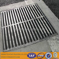 Heavy duty galvanized stainless steel grating in metal building materials