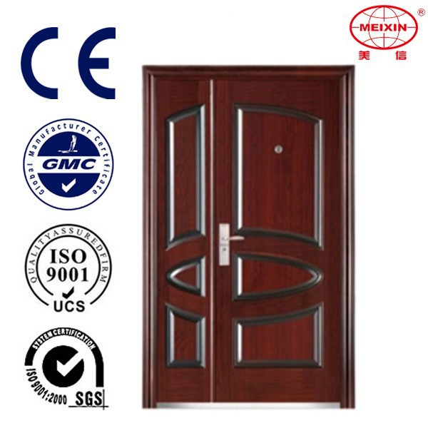 Main Gate Designs Stainless Steel Security Double Door
