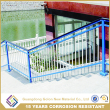 Outdoor stair railings price/outdoor galvanized iron railings/metal stair handrail,indoor stair railing for outdoor steps