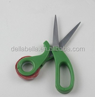 Multifunctional scissors With Tape