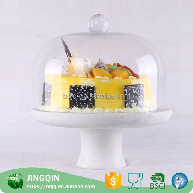 New design natural slate cake plate fancy fruit trays