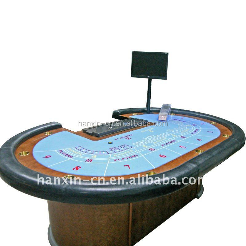 Casino Professional Table 9 person electronic round poker table