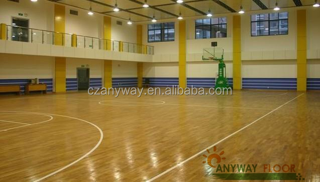 Wood/Timber PVC Sporting Flooring