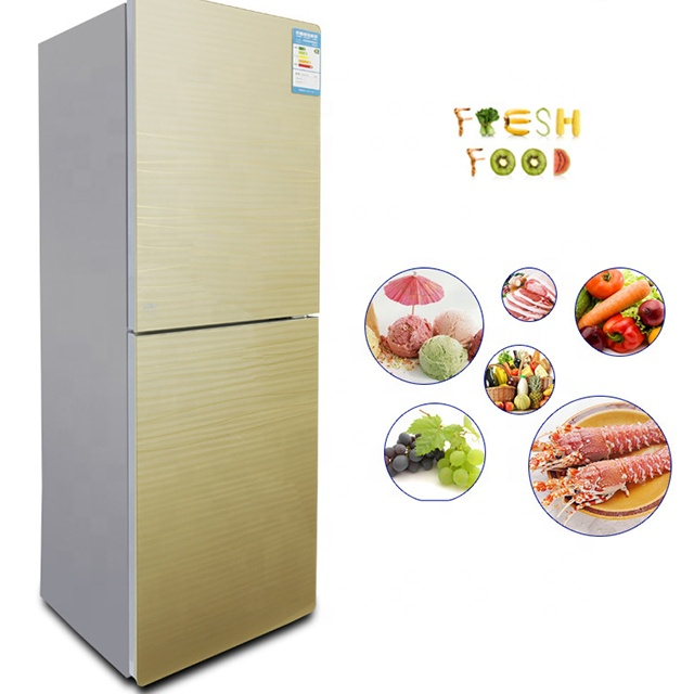 202L Hot Sale High Quality Home Kitchen <strong>Appliance</strong> Upright Fridge Double Door fridge With freezer