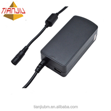 100-240v universal charger 40W mini laptop adapter with LED light and USB port for mobile phone and notebook