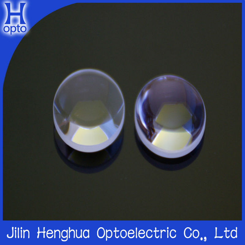 b270 Optical round convex glass lens in stock