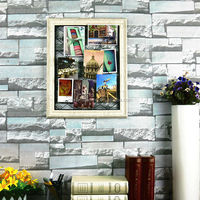 Shabby Chic Hot Sale in China Fashion Rectangle Metal Net PS wall mounted acrylic photo picture frame
