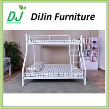 Latest design steel home furniture bunk bed 3 layer