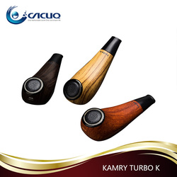 CACUQ 2017 New Arrival Delicate Design Kamry Turbo k e cigarette Smoking Pipe Vape 35w