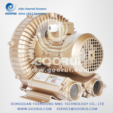 5.5hp/4kw ring air blower for Pneumatic convey