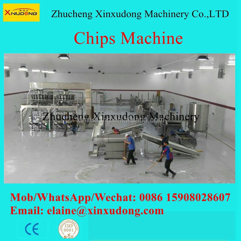 Automatic chips machine hot sale