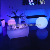 Cool Bar/club/party/wedding/KTV/hotel RGB Party Tables And Chairs For Sale Coffee Table Aquarium