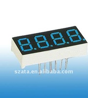 Mess supply! Blue color 0.5 inch 4 digits led clock segment