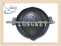 Hot Sale Cast Iron Round Sizzling Plate As Seen on TV