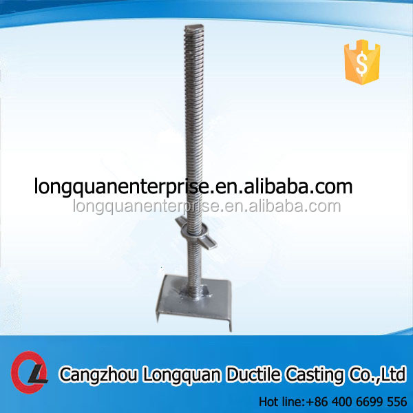 Scaffolding Base Plate For Construction Jack Base
